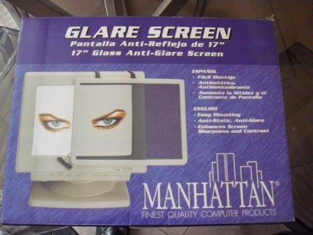 pannello in vetro anti riflesso per computer 17 Usato Euro 15