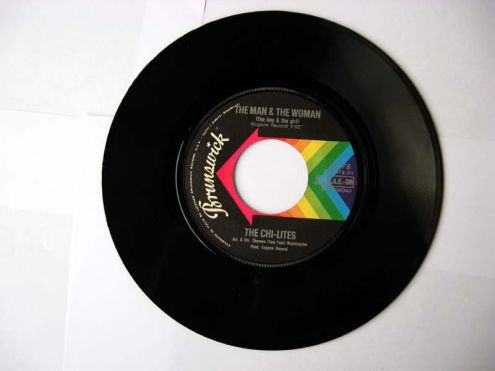 45 giri del 1972-The Chi-Lites-The coldest days of my life - Foto 3