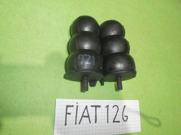 Tamponi gommini finecorsa posteriori Fiat 126 1a serie personal Fsm