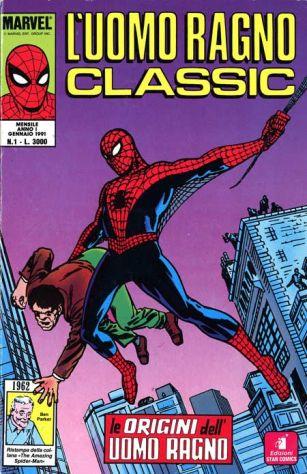 Uomo Ragno Classic (Star Comics) dal n. 1 al n. 15, da COLLEZIONISTA