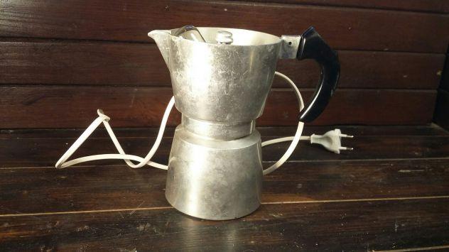 C85 alluminio vecchio lampada applique base caffettiera