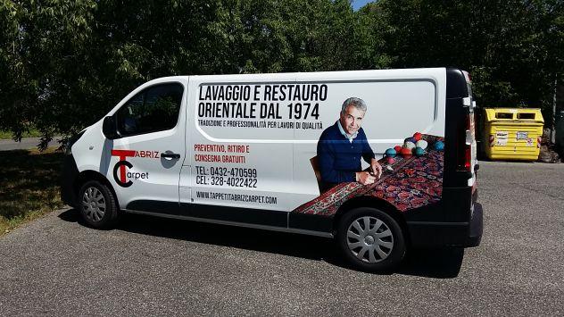 Pulizia e restauro tappeti Codroipo, centro lavaggio tappeti - Foto 4