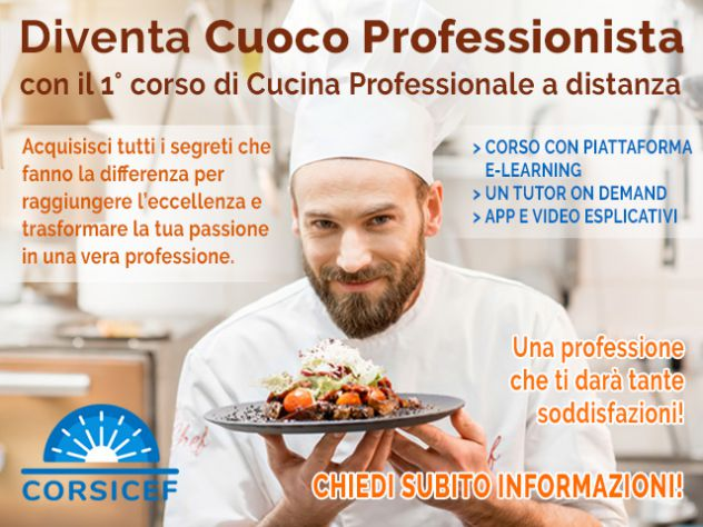 Corso Per Cuoco Professionista Annunci Arezzo