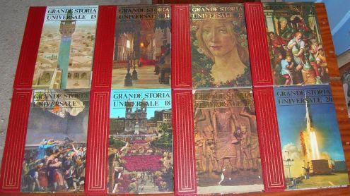 GRANDE STORIA UNIVERSALE ARMANDO CURCIO EDITORE 20 VOLUMI ANNO 1977 altezza … - Foto 3