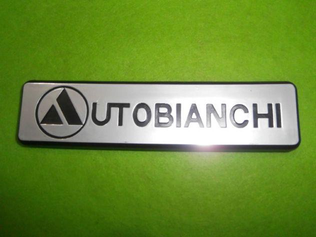 Logo targhetta posteriore per Autobianchi a112 4°s quarta serie (an 77-79) NUOVA