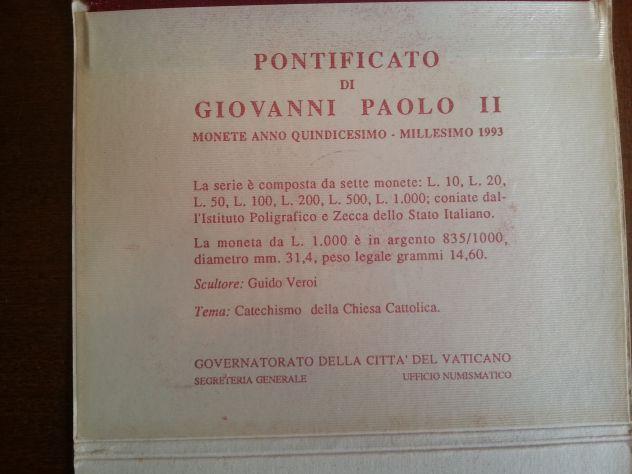 52 MONETE:6 D'ARGENTO MASSICCIO,FIOR DI CONIO,7 SERIE DIVISIONALI,VATICANO E SAN - Foto 10