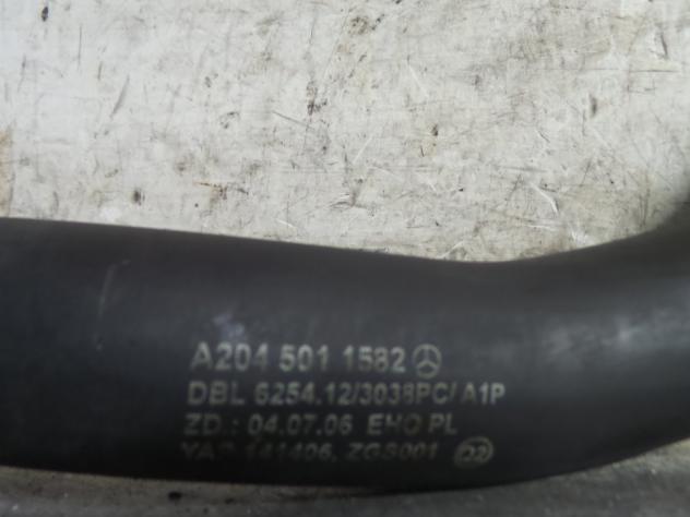 MANICOTTO SUP. RADIATORE SX. MERCEDES-BENZ CLASSE C (W/S204) (01/0704/11