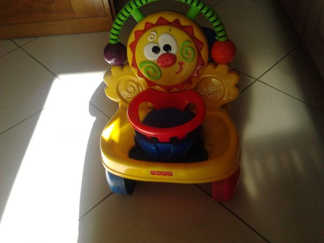 cavalcabile Fisher Price 2 in 1