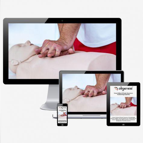 Video Corso Online di Pronto Soccorso e Traumatologia Sportiva  Oligenesi