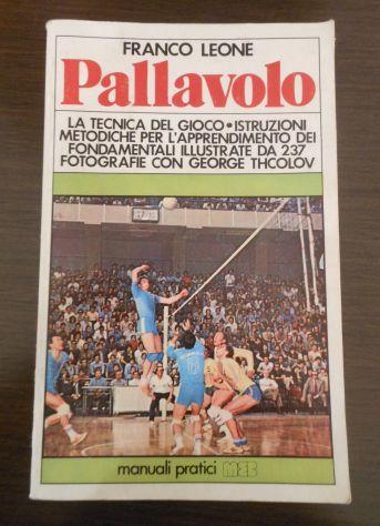 Pallavolo, FRANCO LEONE, MANUALI PRATICI MEB 1978. - Foto 2