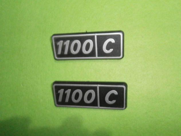 Scritte posteriori Fiat 128 1100 confort  NUOVE - Foto 2
