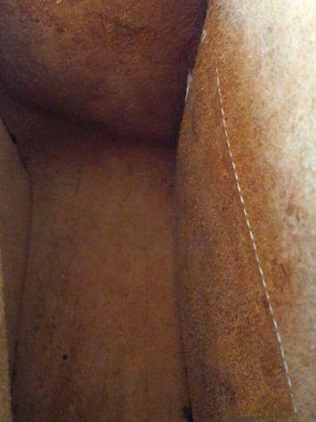 Borsa lavoro/portadocumenti in pelle antichizzata (Unisex) - Foto 3