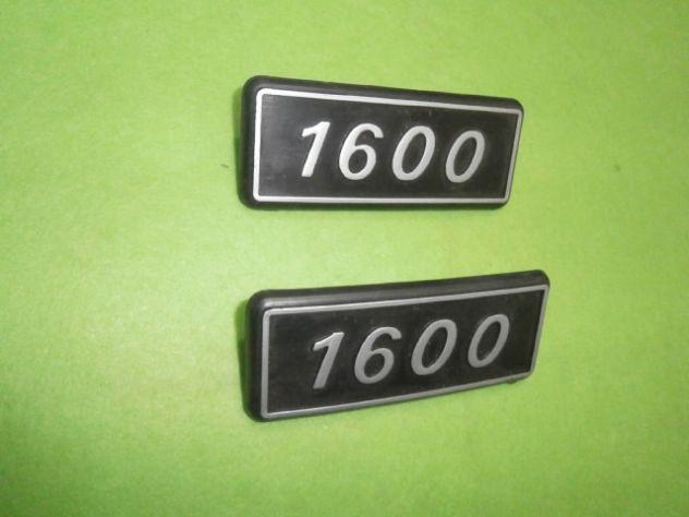 Scritte loghi targhette posteriori Fiat 131 1600  NUOVE - Foto 3