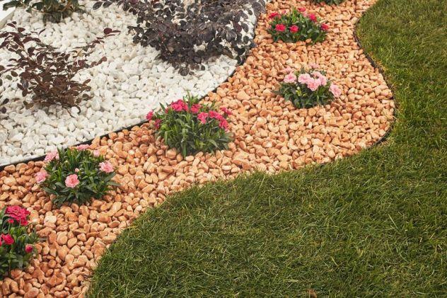 Ciottoli sassi pietre rocce per arredo giardino offerta for Sassi piatti per giardino
