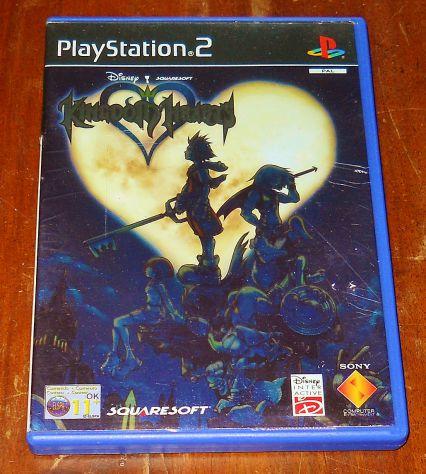 Kingdom Hearts gioco ps2 playstation 2 square enix RPG GDR videogioco platinum