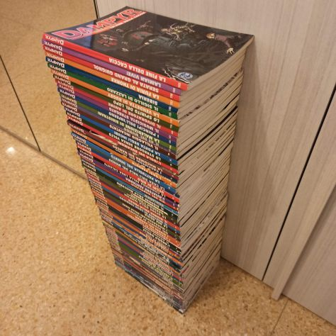 Lotto 74 fumetti DAMPYR Bonelli
