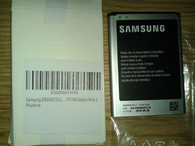 Batteria samsung EB595675LU 3100 mAh originale