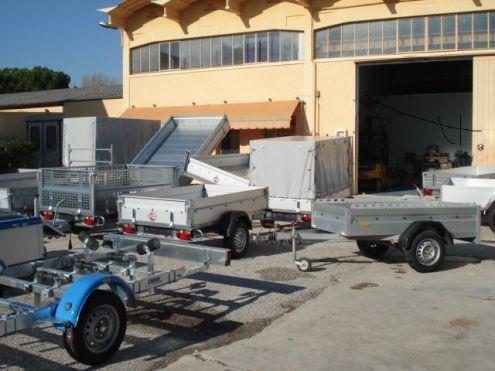 Noleggio Carrelli Rimorchio per tasporto Barche Moto Merci - Foto 2