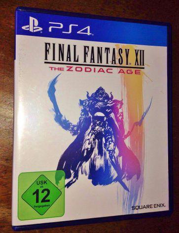 GIOCO PS4 FINAL FANTASY 12 XII THE ZODIAC AGE PLAYSTATION 4 RPG GDR
