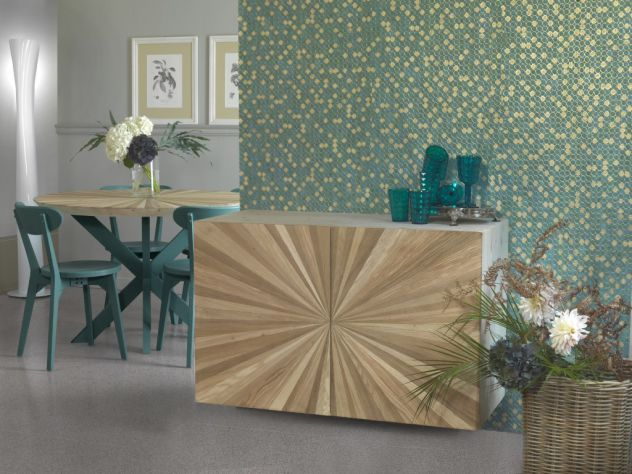 Composizione tipo, soggiorno in legno. COD CVG 7 - Foto 3