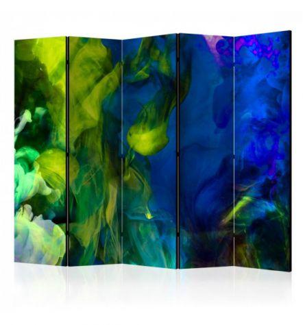 Paravento Multicolore ARREDALACASA N.5 Con 5 Ante