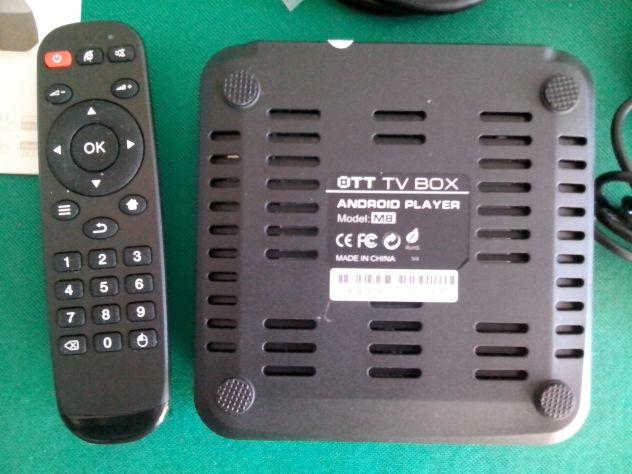TV BOX ANDROID SMART TV M8 QUAD CORE 2 GIGA FULL HD 1080P - Foto 5