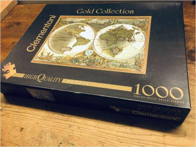 Puzzle Clementoni Gold Collection 1000 pezzi
