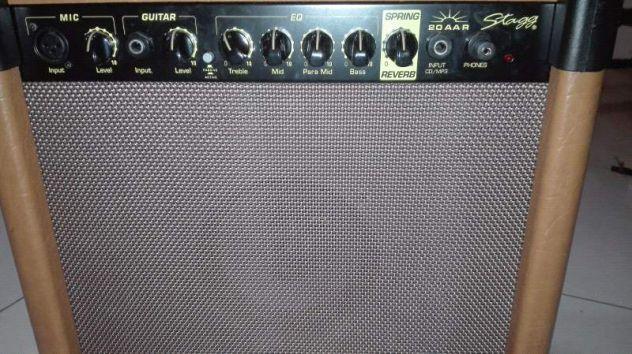 Amplificatore stagg 20W con cassa. Per chitarra - strumenti e MP3 - Foto 3