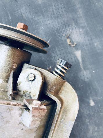 Motore usato monofase macchina cucire industriale - Foto 6