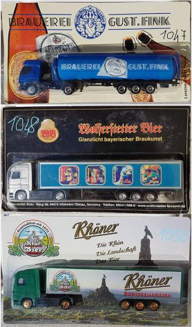 GRELL - Herpa - AUTOCARRI H0 1:87 SCANIA MB IVECO MAN FORD RENAULT per diorami