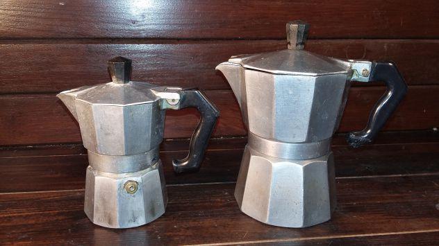 C142 caffettiera riuso Pezzetti 2tz 4tz coppia