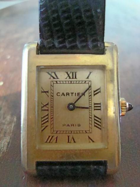 Antico orologio cartier edizione numerata