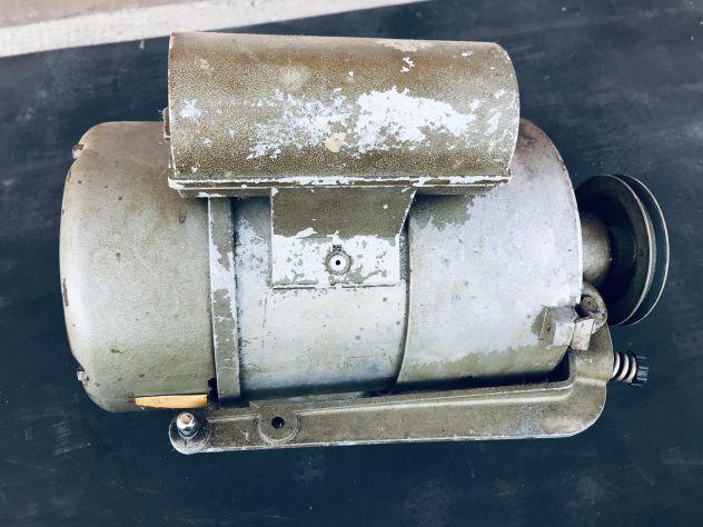 Motore usato monofase macchina cucire industriale - Foto 3