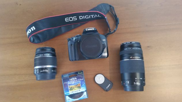 Vendo Canon EOS 450D reflex digitale usata