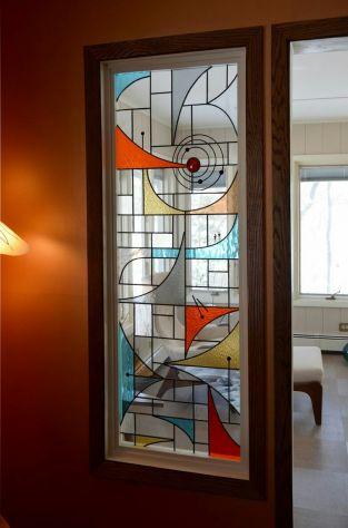 Vetrate Artistiche Porte Finestre Divisori Quadri Luminosi