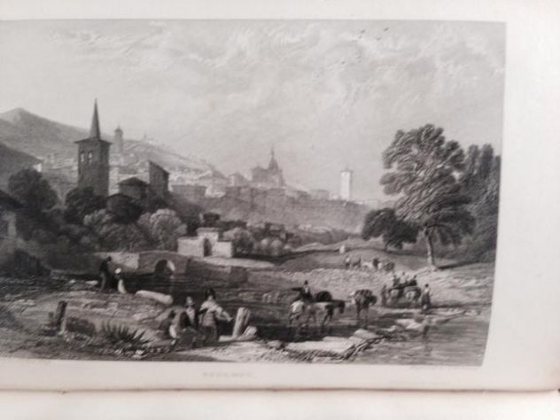 THOMAS ROSCOE THE TOURIST IN ITALY. LANDSCAPE ANNUAL 1832 - Foto 10