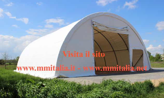 Agritunnel , Tunnel Agricoli 9,15 x 26,0 Mt. By MM Italia Technology