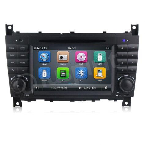Autoradio 2DIN navigatore Mercedes W203 W209 W203 W407 W467 C200 C220 - Foto 4