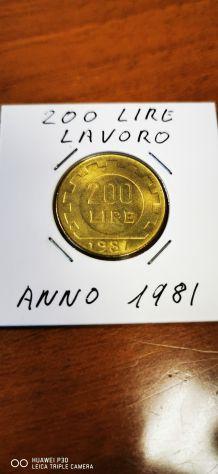 200 LIRE LAVORO ANNO 1981