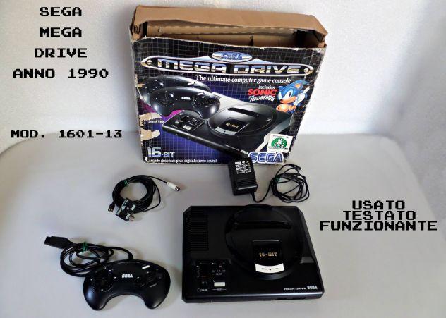 Sega Mega Drive (anno 1990) Mod. 1601-13 usato  Terzigno
