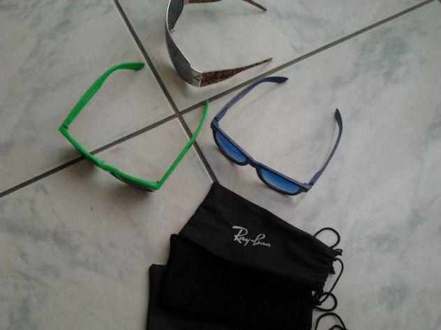 2 occhiali Ray Ban e 1 monica Narducci usati Canosa di Puglia