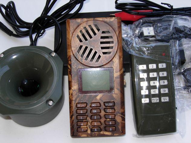 Richiamo x uccelli in MP3 con TIMER per sasselli cesene germani
