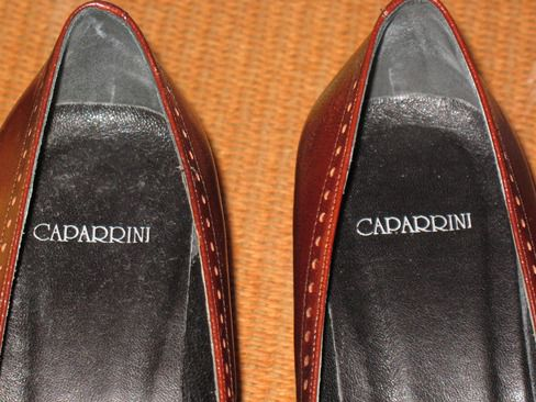 SCARPE  DECOLLETE'  IN VITELLO CAPARRINI - Foto 3