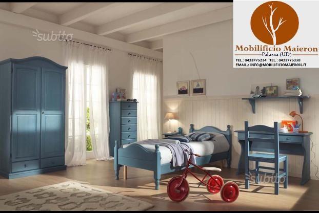 Camere da letto complete colorate nuove
