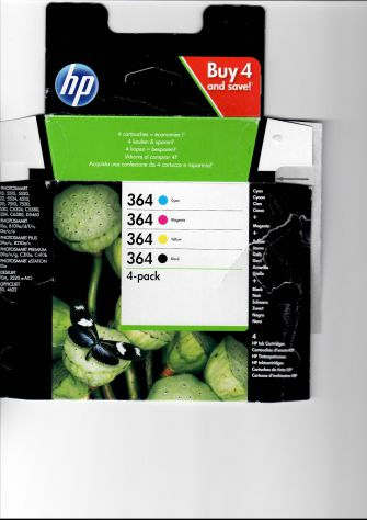 Cartucce Stampante HP  (Codice 364)