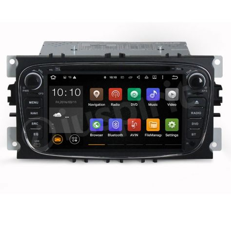 ANDROID DVD autoradio 2 DIN navigatore Ford Focus Mondeo C-Max S-Max - Foto 7