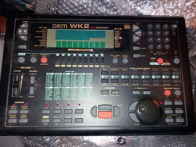 Gem WK2 Station Lettore professionale per basi karaoke da pianobar / live
