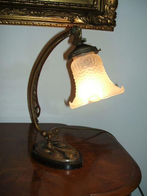 Lampada Liberty originale, primissimi anni del '900