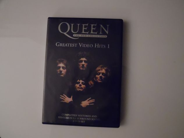 "DvdComeNuovoOriginaleCompletoConcerto:Queen""Greatest Video Hits 1&quot …"