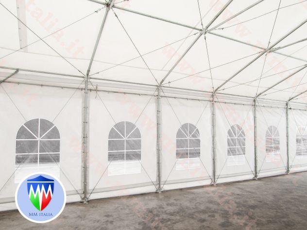 Tendoni 8 x 12 linea Impero qualitá Estrema per feste magazzino deposito - Foto 3